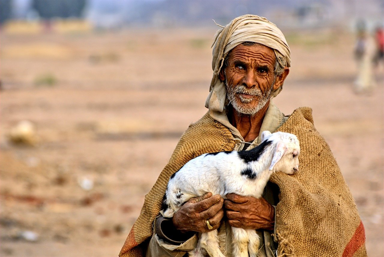 Man with Cataract in Egypt
